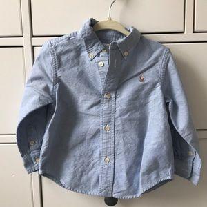 🐴 Ralph Lauren Baby Button Down